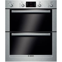 BOSCH Exxcel HBN53R550B Electric Built-under Double Oven - Stainless Steel, Stainless Steel