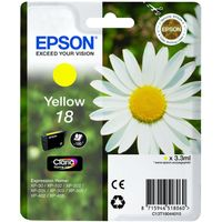 EPSON Daisy T1804 Yellow Ink Cartridge, Yellow