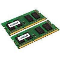 Crucial - DDR3L - 16 GB : 2 x 8 GB - SO-DIMM 204-pin