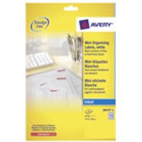 Avery Mini Labels Extra Value Pack - labels - 6750 label(s)