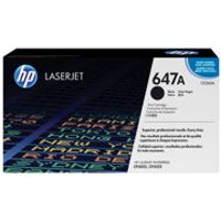 HP 647A - black - original - LaserJet - toner cartridge (CE260A)