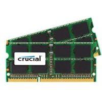 Crucial - DDR3 - 16 GB : 2 x 8 GB - SO-DIMM 204-pin