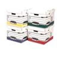 Fellowes Bankers Box Flip Top Storage Cube [Pack 12] - 0039701