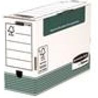Fellowes Bankers Transfer File Foolscap White [Pack 10] - 1179201