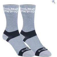 Bridgedale Mens Coolmax Liner Socks, Medium (2 pair pack) - Size: M - Colour: Grey