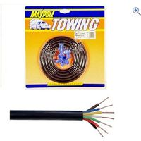 Maypole Cable 7 Core N Type - Colour: Black
