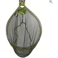 Dinsmores Rigid Oval Easi Flo 18 Inch Fishing Mesh Net - Colour: Green