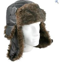 ProClimate Mock Leather Trapper Hat