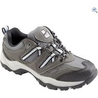 Freedom Trail Lowland Womens Trail Shoes - Size: 12 - Colour: GREY-LIGHT BLUE