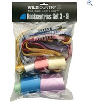 Wild Country Anodised Rockcentric Set - 3 to 9 - Colour: Silver