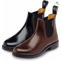 Harry Hall Buxton Ladies Jodhpur Boots - Size: 3.5 - Colour: Brown