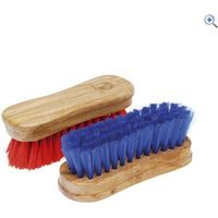 Cottage Craft Horse Face Brush - Colour: Red