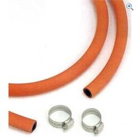 Pennine Leisure LPG Gas Hose (1m), and 2 Jubilee Clips