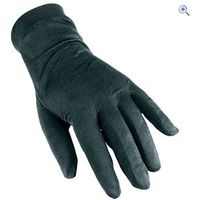 Trekmates Mens Silk Gloves - Size: L - Colour: Black