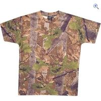 Jack Pyke English Oak Camo T-Shirt - Size: S - Colour: ENGLISH OAK