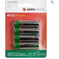 AgfaPhoto AA Ni-MH 1300 Rechargeable Batteries (4 pack)