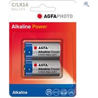 AgfaPhoto C Digital Alkaline Battery (2 pack)