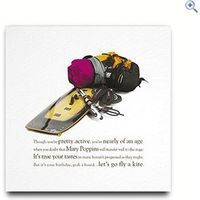 Rhyme With Reason Kiteboard Greeting Card