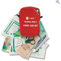 Hi Gear First Aid Kit 1 - (11 Item Pack) - Colour: Red