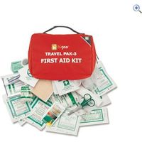 Hi Gear First Aid Kit 3 (22 Items) - Colour: Red