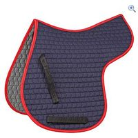 Shires General Purpose Quilted Numnah - Size: S - Colour: Navy