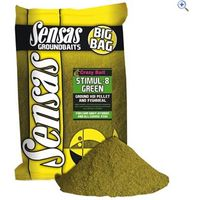 Sensas Crazy Bait Stimul-8 Green, 2kg