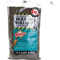 Dynamite Baits Marine Halibut Pellets 4mm 1kg Fishing Match Bait