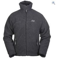 Rab Double Pile Mens Fleece Jacket - Size: XL - Colour: Grey