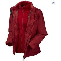 Hi Gear Trent Mens 3-in-1 Jacket - Size: L - Colour: Chilli Red