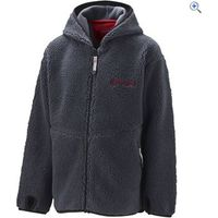 Sprayway Boys Rebel Sherpa Fleece Jacket - Size: 10 - Colour: Graphite