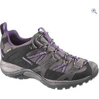 Merrell Siren Sport GTX Womens Walking Shoe - Size: 8 - Colour: Black-Plum