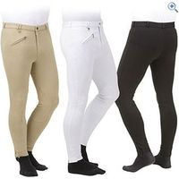 Shires Mens Saddle Hugger Breeches - Size: 40 - Colour: Black
