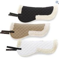 Shires Fully Lined Saddle Pad - Size: L - Colour: Black