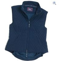 Shires Montreal Ladies Waistcoat - Size: L - Colour: Navy