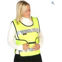 HyVIZ Adjustable Hi-Vis Childs Tabard - Size: C LGE - Colour: Yellow