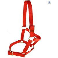 Cottage Craft Economy Headcollar - Size: PONY - Colour: Red