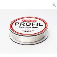 Leeda Profil Backing Line 100m, White, 20lb