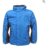 Regatta Luca 3-in-1 Childrens Waterproof Jacket - Size: 13-14 (32) - Colour: OXFORD BLUE
