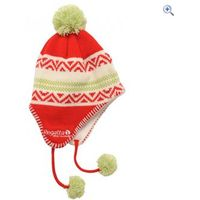 Regatta Alva Drop Ear Childrens Hat - Size: 2-6 - Colour: Pepper Red