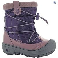 Hi-Tec Equinox Mid 200 Jr Snow Boots - Size: 13 - Colour: WINE-STELLA