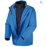 Hi Gear Trent Mens 3-in-1 Jacket - Size: M - Colour: Royal Blue-Navy