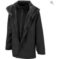 Hi Gear Trent Childrens 3-in-1 Jacket - Size: 7-8 - Colour: Black