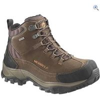 Merrell Mens Norsehund Omega Mid Waterproof Walking Boots - Size: 7 - Colour: Stone