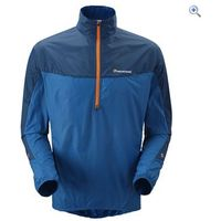 Montane Mens Featherlite Windproof Smock - Size: S - Colour: Moroccan Blue