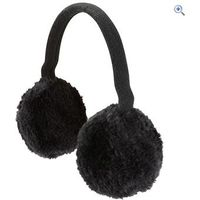 The Edge Winnipeg Ear Muff - Size: One Size - Colour: Black