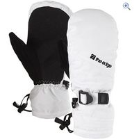 The Edge Meribel Womens Ski Mitts - Colour: White