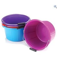 Lincoln Mould Flex Feed Bucket (20 Litre) - Colour: Magenta
