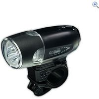 Moon Rebel 90 LED Front Light - Colour: Black