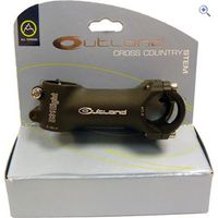 Outland MTB XC Stem 31.8 x 90mm - Colour: Black