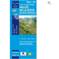 IGN Maps TOP 25 Series: 3841 OT Vallee de la Roya/ Vallee des Merveilles Map
